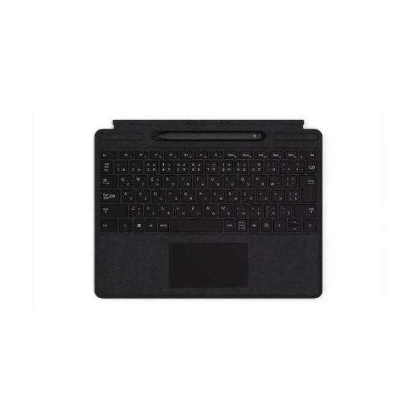 マイクロソフト QSW-00019 ブラック Surface Pro X Signature [PC用キーボード(日本語配列 スリムペン付き)]