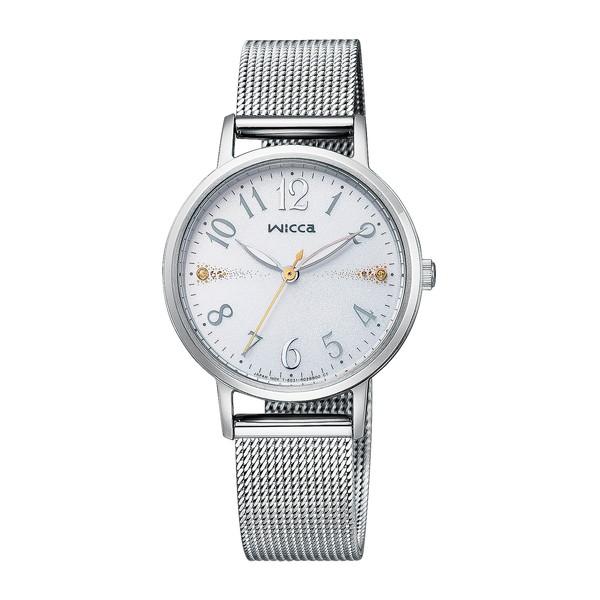 CITIZEN(シチズン) KP5-115-11 シルバー ウィッカ [ソーラーテック腕時計 (レディースウォッチ)]