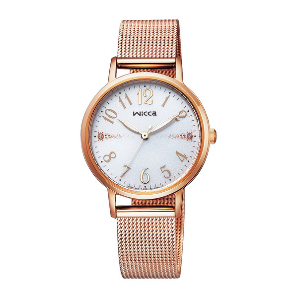 CITIZEN(シチズン) KP5-166-13 ピンクゴールド ウィッカ [ソーラーテック腕時計 (レディースウォッチ)]