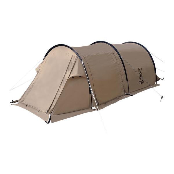 DOD T2-604-TN タン [カマボコテントソロTC] キャンプ アウトドア レジャー BBQ バーベキュー ソロキャンプ