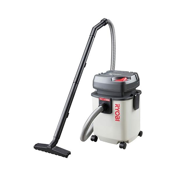 [業務用掃除機] リョービ(RYOBI) VC-1200 乾湿両用クリーナー 乾湿両用タイプ 掃除 落ち葉 大掃除