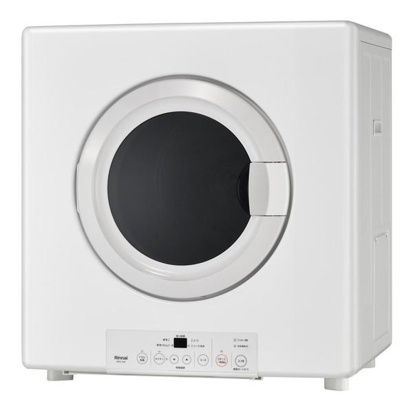Rinnai RDTC-54S-13A ピュアホワイト 乾太くん [業務用ガス衣類乾燥機(5.0kg/都市ガス用)]