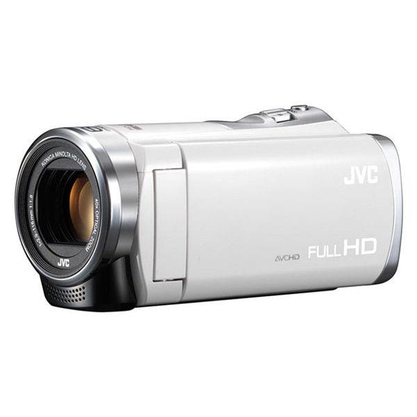 ビデオカメラ JVC GZ-HM199-W ホワイト Everio フルハイビジョンデジタルビデオカメラ