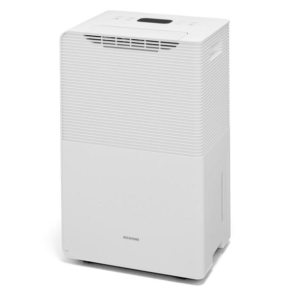 アイリスオーヤマ IJCP-J160-W ホワイト [コンプレッサー式除湿機(16L) 空気清浄機能付]