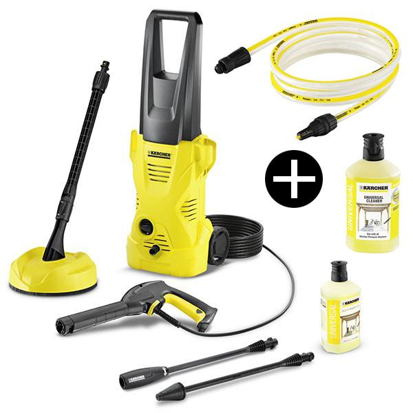 ケルヒャー 高圧洗浄機 K2ホームキット 自吸用ホース&洗浄剤セット (50Hz/60Hz共用)