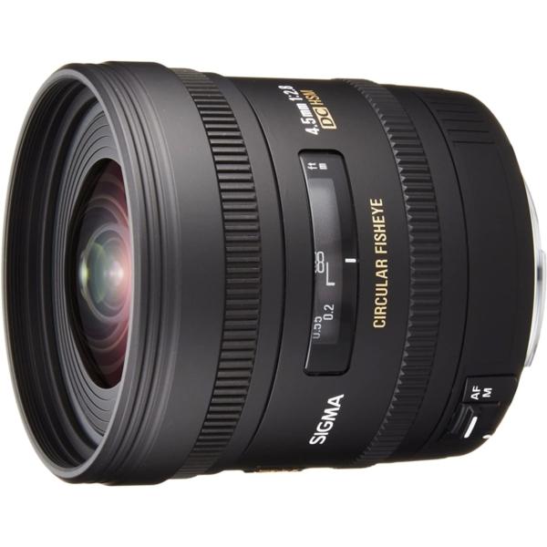 SIGMA 4.5mm F2.8 EX DC CIRCULAR FISHEYE HSM キヤノン用 [交換レンズ]