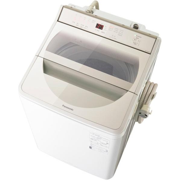 PANASONIC NA-FA80H8-N シャンパン [簡易乾燥機能付洗濯機 (洗濯8.0kg)]