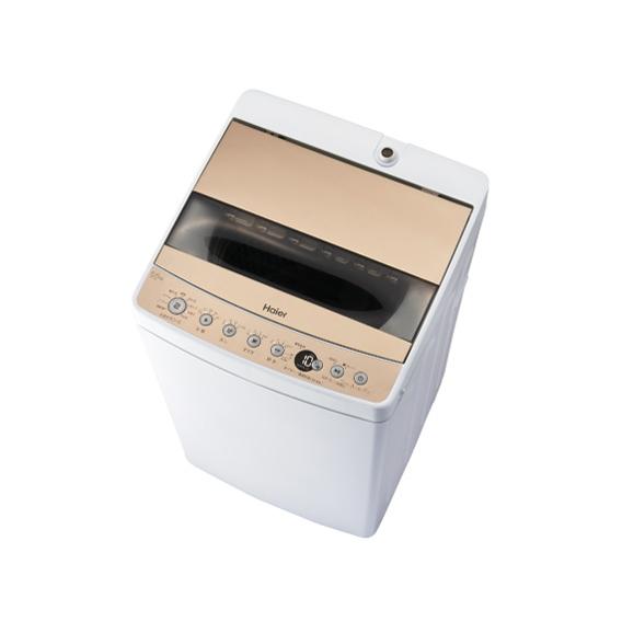 ハイアール JW-C55D-N シャンパンゴールド [簡易乾燥機能付洗濯機(5.5kg)]