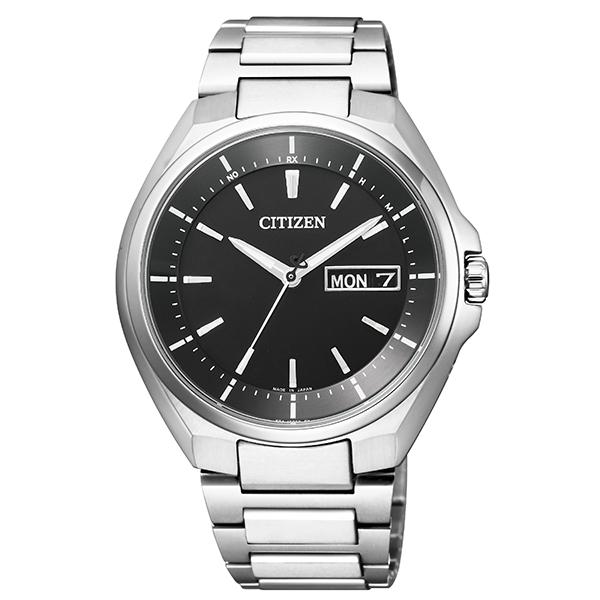 CITIZEN(シチズン) AT6050-54E アテッサ [エコ・ドライブ電波時計(メンズ)]