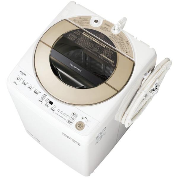 SHARP ES-GV9E ゴールド系 [全自動洗濯機(9.0kg)]