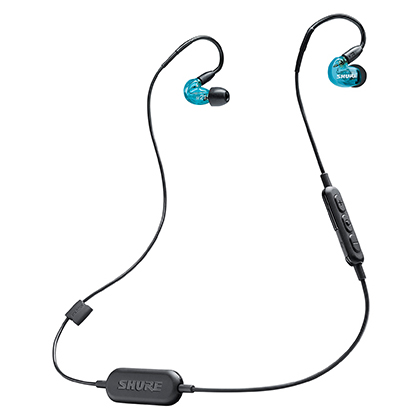 【送料無料】SHURE SE215SPE-B-BT1-A Wireless Blue Special Edition [ワイヤレスイヤホン (Bluetooth対応)]