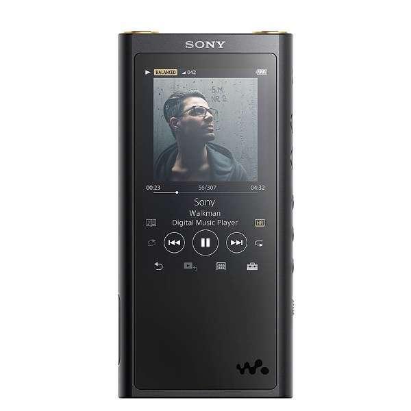 【送料無料】SONY NW-ZX300 B ブラック Walkman(ウォークマン) ZXシリーズ [ハイレゾ音源対応ポータブルオーディオプレーヤー (64GB)]