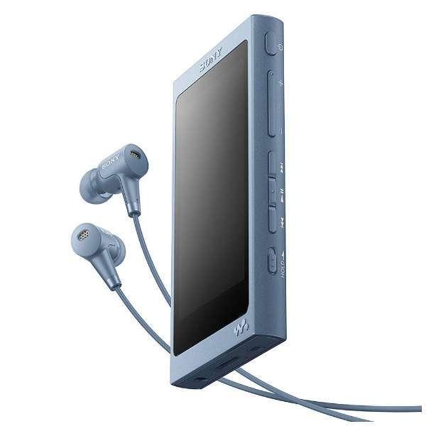 【送料無料】SONY NW-A46HN-L ムーンリットブルー Walkman(ウォークマン) A40シリーズ [ハイレゾ音源対応 ポータブルオーディオプレーヤー (32GB)]