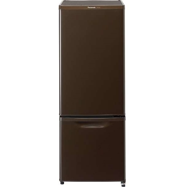【送料無料】PANASONIC NR-B17AW-T マホガニーブラウン [冷蔵庫 (168L・右開き)] NRB17AWT 小型 一人暮らし 2ドア