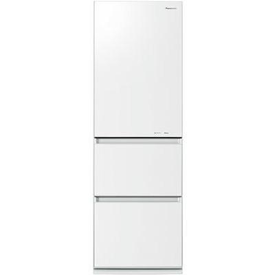 【送料無料】PANASONIC NR-C37HGM-W スノーホワイト [冷蔵庫 (365L・右開き)]
