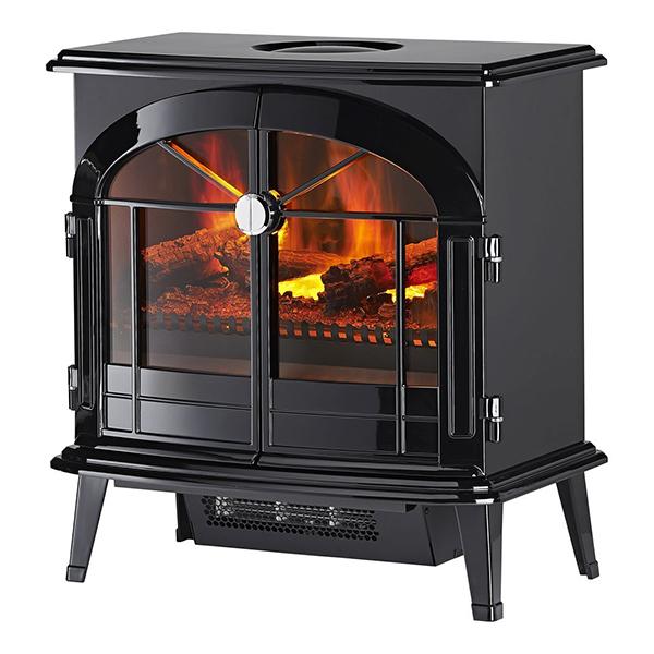【送料無料】DIMPLEX BRG12J ブラック バーゲイト [電気暖炉 (3~8畳用)]