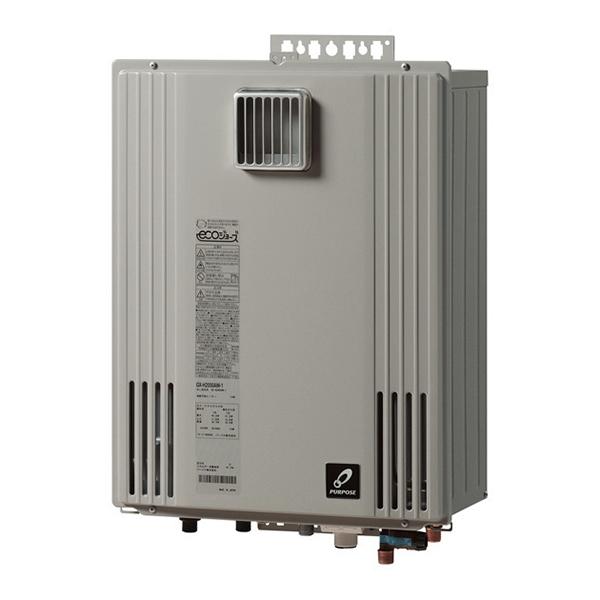 【送料無料】パーパス GX-H2402AW-13A エコジョーズ ふろ給湯器GXシリーズ [ガス給湯機器 (都市ガス用 24号 屋外壁掛形)]