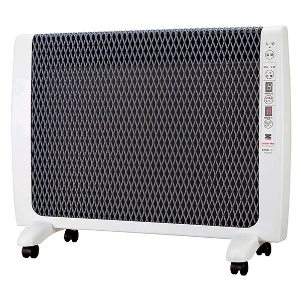 【送料無料】パネルヒーター 省エネ 遠赤外線 キャスター付き 薄型 暖房器具 ゼンケン アーバンホット RH-2200 超薄型 電気 ヒーター おしゃれ