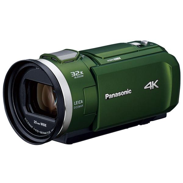 PANASONIC HC-VZX2M-G フォレストカーキ [デジタル4Kビデオカメラ (64GB内蔵メモリー)]