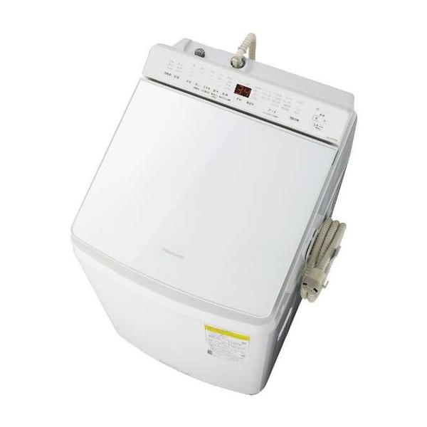 PANASONIC NA-FW100K8-W ホワイト [洗濯乾燥機(洗濯10.0kg/乾燥5.0kg)]【代引き不可】