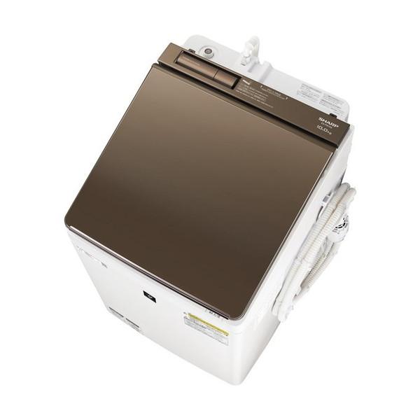 SHARP ES-PW10E ブラウン系 [洗濯乾燥機(洗濯10.0kg/乾燥5.0kg)]【代引き不可】