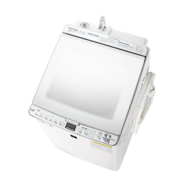 SHARP ES-PX8E ホワイト系 [洗濯乾燥機(洗濯8.0kg/乾燥4.5kg)]【代引き不可】