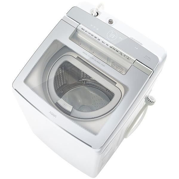 AQUA AQW-GTW110J ホワイト [洗濯乾燥機(洗濯11.0kg/乾燥5.5kg)]【代引き不可】
