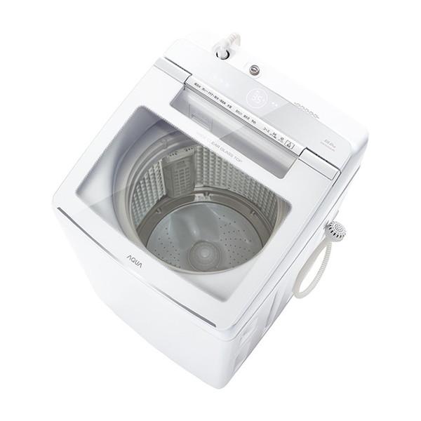 AQUA AQW-GVW100J ホワイト [簡易乾燥機能付き洗濯乾燥機 (10.0kg)]【代引き不可】