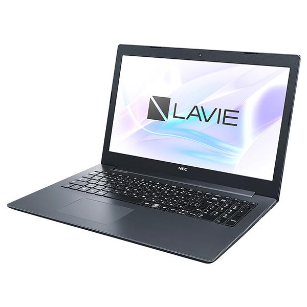 NEC PC-SN26VQDDF-D カームブラック LAVIE Smart NS(A) [ノートパソコン 15.6型 / Win10 Home / DVDスーパーマルチドライブ / Office搭載]