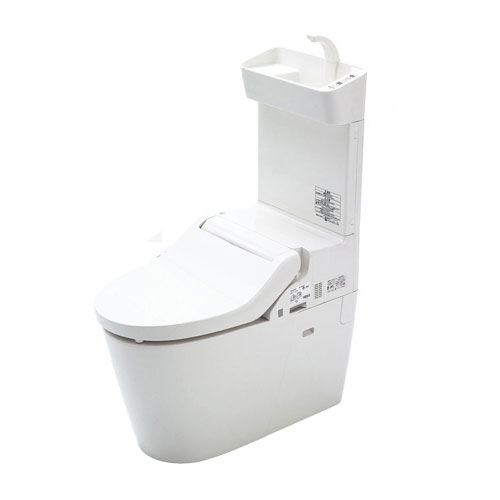 PANASONIC XCH3013WST ホワイト NewアラウーノV 専用トワレ新S3 [全自動お掃除トイレ 標準タイプ (床排水芯200mm(120mm)固定/専用便座セット/手洗い有り)]