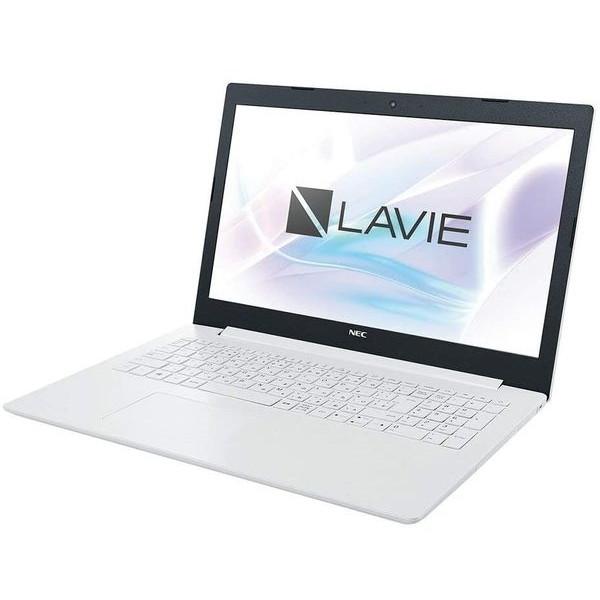 NEC PC-GN164JFNDA7FD1TDA カームホワイト Lavie Direct NS [ノートパソコン 15.6型 / Win10 Pro / DVDスーパーマルチ]