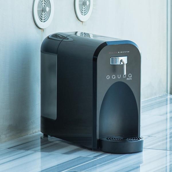 【送料無料】 [水素水生成器] GAURA GH-T1(B) ブラック ガウラミニ 高濃度な水素水