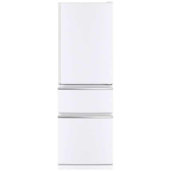 【送料無料】MITSUBISHI MR-C37C-W パールホワイト [冷蔵庫 (370L・右開き)]
