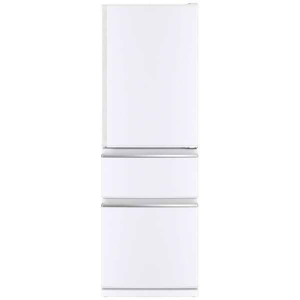 【送料無料】MITSUBISHI MR-CX37C-W パールホワイト [冷蔵庫(365L・右開き)]