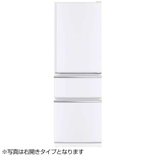 【送料無料】MITSUBISHI MR-CX37CL-W パールホワイト [冷蔵庫 (365L・左開き)]