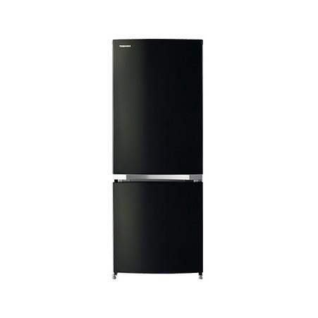 【送料無料】東芝 GR-M15BS(K) ピュアブラック BSシリーズ [冷蔵庫 (153L・右開き)]小型 一人暮らし 2ドア