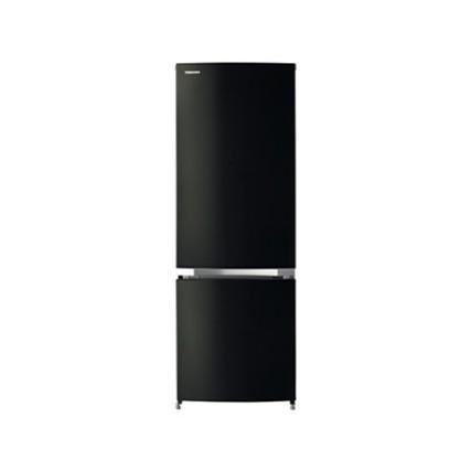 【送料無料】東芝 GR-M17BS(K) ピュアブラック BSシリーズ [冷蔵庫 (171L・右開き)]小型 一人暮らし 2ドア