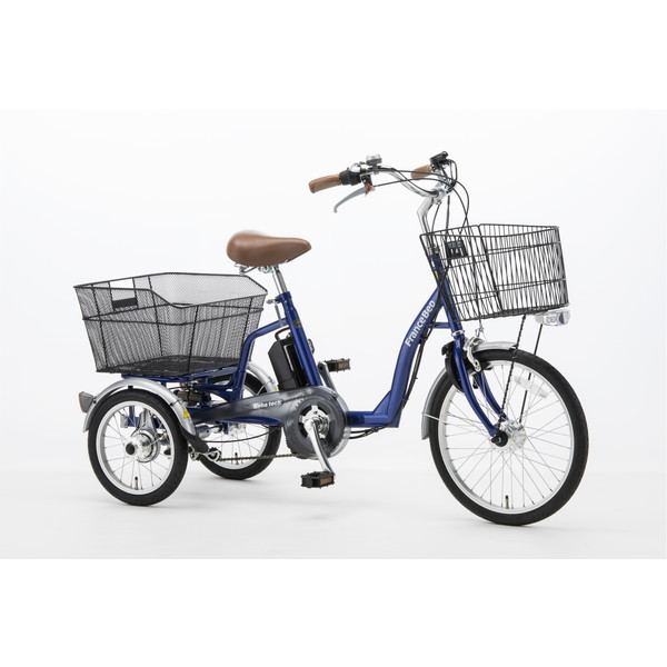 【送料無料】フランスベッド ASU-3WT3 ブルー [電動アシスト三輪自転車] 【同梱配送不可】【代引き不可】【時間指定不可】【沖縄・北海道・離島配送不可】