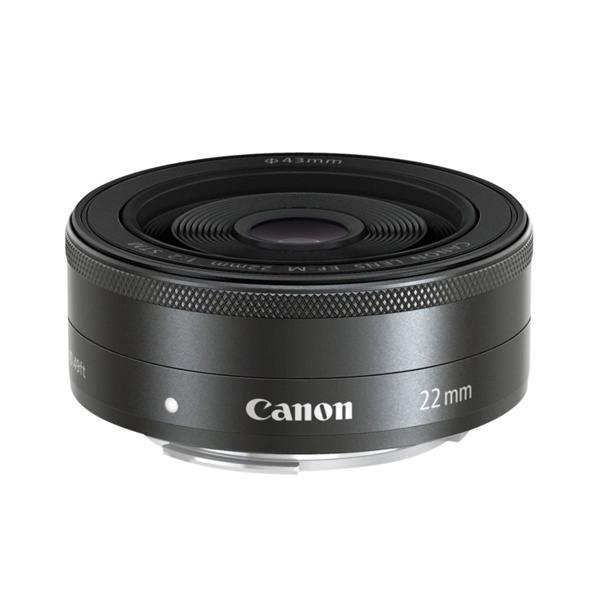 【送料無料】CANON EF-M22mm F2 STM [薄型パンケーキレンズ]