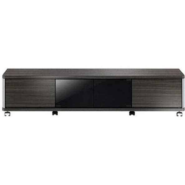 【送料無料】朝日木材加工 AS-GD1400L ブラック系 GD style [テレビ台 (~60V型対応)]