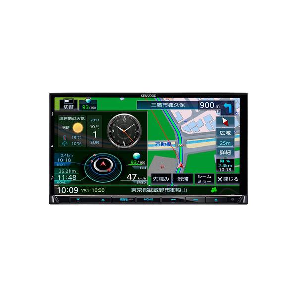 【送料無料】KENWOOD MDV-M705 彩速ナビ [7V型ワイド 地上デジタルTV DVD USB CD Bluetooth SD AVナビゲーション]