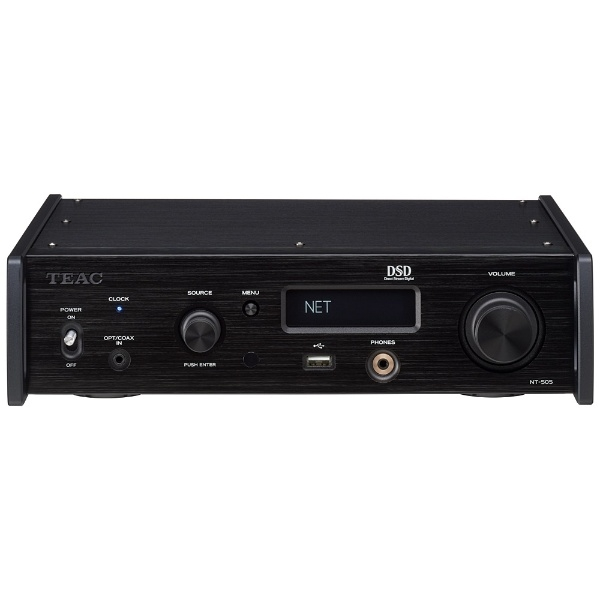 TEAC NT-505-B ブラック [USB DAC/ネットワークプレーヤー]