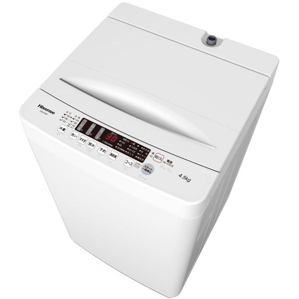 Hisense HW-K45E [簡易乾燥機能付洗濯機 (4.5kg)]