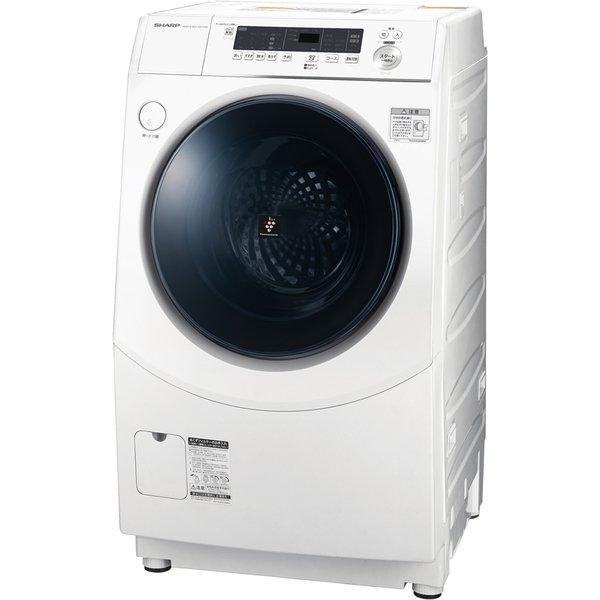 SHARP ES-H10E-WR ホワイト [ドラム式洗濯乾燥機(洗濯10.0kg/乾燥6.0kg)/右開き]