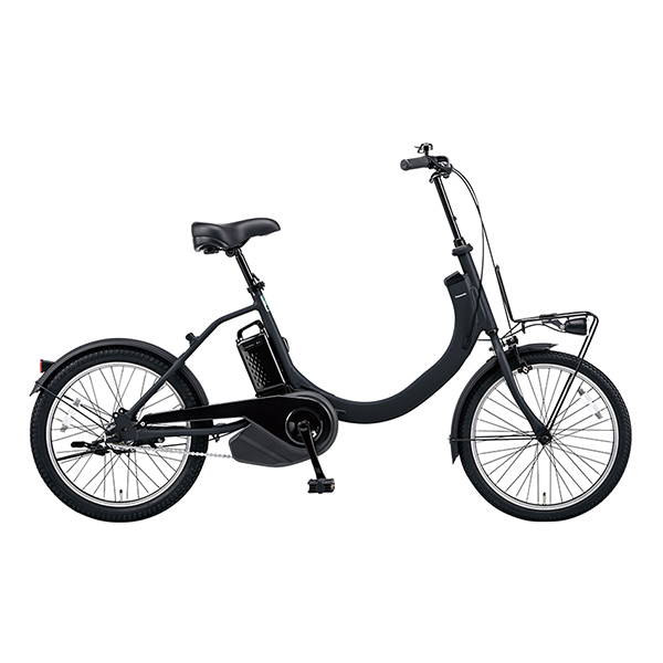 PANASONIC BE-ELSW012-B マットジェットブラック SW [電動アシスト自転車(20×1.75HE×20×2.125HEインチ)] メーカー直送