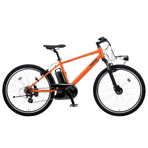 PANASONIC BE-ELH342A-K パールオレンジ ハリヤ [電動アシスト自転車(26×1.90 HEインチ・外装7段)] メーカー直送