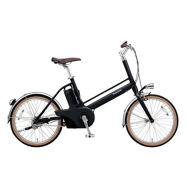 PANASONIC BE-JELJ012A-B マットナイト Jコンセプト [電動アシスト自転車(20インチ)] メーカー直送