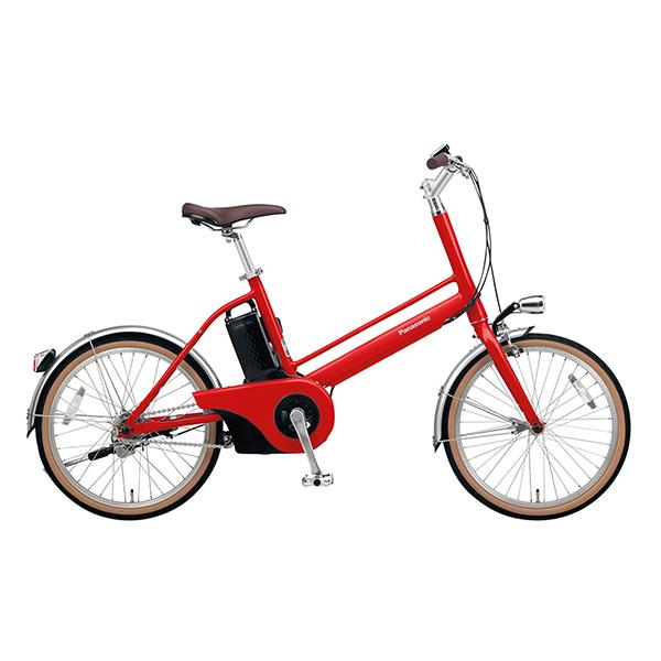 PANASONIC BE-JELJ012A-R レッドリーブス Jコンセプト [電動アシスト自転車(20インチ)] メーカー直送