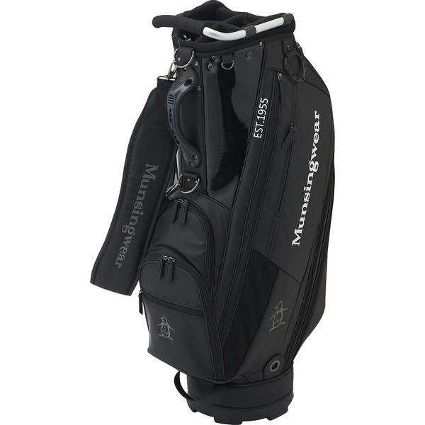 Munsingwear 2020年モデル マンシングウェア MQBQJJ00 キャディバッグ ブラック 【日本正規品】