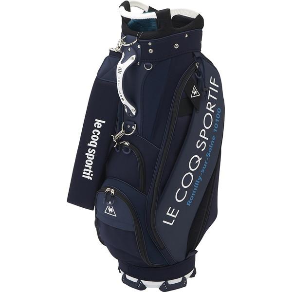 le coq sportif ルコック キャディバッグ 2020年モデル QQBQJJ00 ネイビー 9.0型 47インチ対応 【日本正規品】